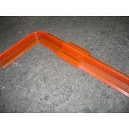 Eco barrier - barrière de rétention d'eaux d'incendie - cgk - barrière fixe