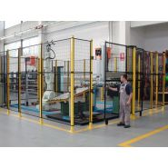 SYSTEME STRONG PROTECTION GRILLAGEE MACHINE OUTIL ET ILOT ROBOTISE