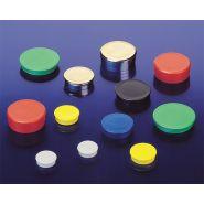 Punaise magnétique - bls magnet - ronde avec dessus plat