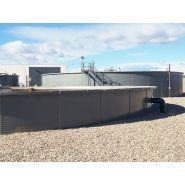 W-Tank plaque salamanca - Réservoir de stockage industriel - Toro equipment - Plaque lisse avec 2 nervures intérieures