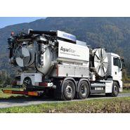 Aquastar camions aspirateurs - kaiser - 1 600 à 4 200 m3/h