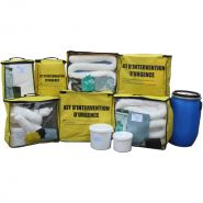 KIT  ANTIPOLLUTION HYDROCARBURE - KIT D'INTERVENTION