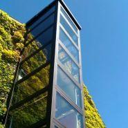 gamme exterieur - Ascenseur autoportant - RAF - Vitesse 0.15 m/s maximum