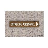 Panneau directionnel - Pic Bois - Hauteur : 20 cm