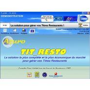 LOGICIEL GESTION TICKET RESTAURANT - A2GI-TIT_RESTO - 99,00 EUROS HT