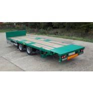 RA3TG2 - Remorque plateau pour poids lourd - Fournier - Ptc 19t