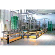 Lavage palettes - Laveuses industrielles alimentaires - Colussi Ermes - 300palettes/heure