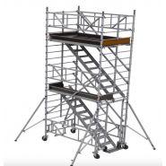 TE Échafaudages tour escaliers - Ultralu - Hauteur travail 4.30 m à 14.30 m