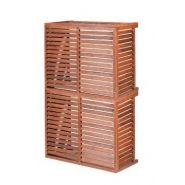 Cache climatiseur - decoclim® - bois - taille s modèle double