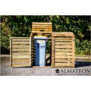 CP 15090 / ALM 142017 - Cache-conteneurs et abris poubelle - Almateon - L150 x P90 x H120cm