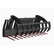Combiné griffe heavy duty - fourches à fumier - mx - modèle de cga 210 ht/ho à cga 245 ht/ho