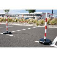 Ptlest - barrière à chaîne pvc à lester ou lesté - signals - h 900 x Ø 50 mm