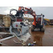 Drg-1-dn pince de tri - mini grappins de démolition 115 kg