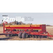 22mille - Semoir agricole - Ingeniero Enrique Bertini - Largeur de travail 3 à 8,4 m