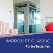 IMPROlift cLASSIC - Ascenseur autoportant - GLE - Vitesse nominale  0.15 ou 0.30 m/s