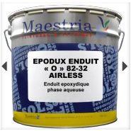 """Epodux enduit """"o"""" 82-32 airless - peinture de sol - peintures maestria - nombre de composants : 2"""