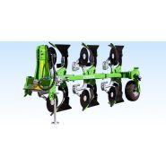 U063 charrues rotatives - charrue agricole - bomet -  soc à disque d'un diamètre de ø41cm.