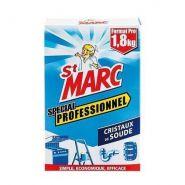 CRISTAUX DE SOUDE PROFESSIONNEL 1.8KG ST MARC