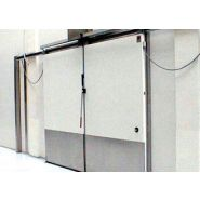 Porte de chambre froide coulissante - jingquan - entreposage au froid du souffle 75mm