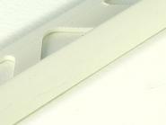 ProfilÉs en pvc - profile 1/4 de rond pvc 6 mm 2.50 ml blanc