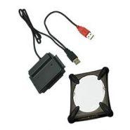 CONVERTISSEUR UNIVERSEL ATA/SATA VERS USB + ÉTUI DE PROTECTION 2,5