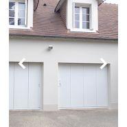 Elise 40 - porte de garage latérale - vrs - motorisée ou manuelle