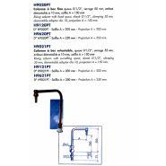 H9621PT - Robinet de laboratoire - LABOTHERM - Saillie 250 mm