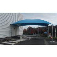 Abri pour station de lavage G1 - Carapax - 6.50 x 4.00 m