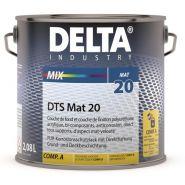 Delta dts mat 20 - peinture bi-composant - cd peintures - aspect mat velouté