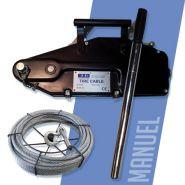 Palan tire cable - Exo - Capacité 800 à 5200 Kg