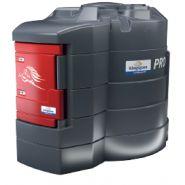 Stockage et distribution de gasoil pro version 1 - Kingspan - Réservoir avec structure à double paroi - Porte rouge verrouillable