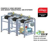 Pompes à vide sèches - sihi boost industrial gb-systems distributeur normandie