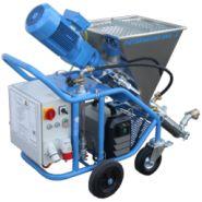 PUTZKNECHT S44-2 FU-3 kW-230V - Machine à projeter Uelzener - Malaxeur-projeteur en 220V