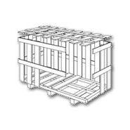 Caisses en bois - CAISSERIE DES CADUELS - A claire-voie