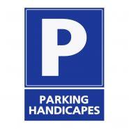 REFZ406 - Panneau parking handicapés - ABC signalétique - Dimensions : 5 cm à 40 cm