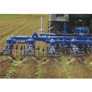 Econet SGI Bineuse agricole - Carré - Biner jusqu'à 15 km/h-Monopoutre repliable