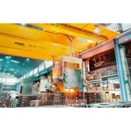 Pont roulant process - demag - pour la production d'acier / les fonderies