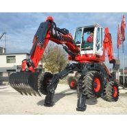 R55 big foot-forester 100hp pelle araignée