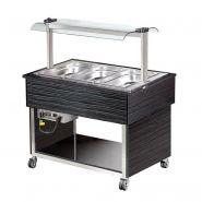 BUFFET FROID - 3 X 1/1 GN PROFESSIONNEL