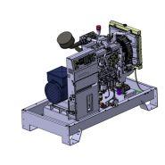 K26M Groupes électrogènes Industriel - SDMO -Tension de Référence (V) 230 mono