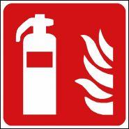 Panneau de signalisation - extincteur d'incendie