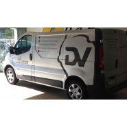 Flotte de véhicules - marquage véhicule - pano sign'service