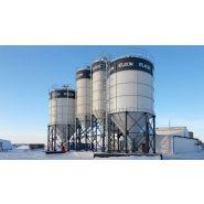 Silos à ciment - Elkon - Capacité allant de 50 à 500 tonnes