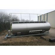 Cuves de transport - BSA - en inox 304L ou 316L