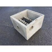 Deva xl-filtre - filtres d'eau de pluie - vanden broucke beton - dimension 60 x 60 x 60 cm