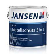 Peinture antirouille - Jansen - Protection métal Aqua 3 en 1
