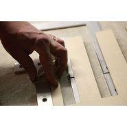 Tactiguide inox - bande de guidage - sma - tactifrance - dimensions: 1000 * 30 * 4 mm