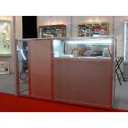 VC BDP - Comptoir pour magasin - Vitrinemag - Hauteur: 110cm