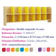 MEUBLE SUSPENDU 14 CASES