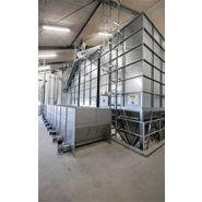 Trémie à vis flexible  - trémie de stockage - bm silo - 390 à 720 litres